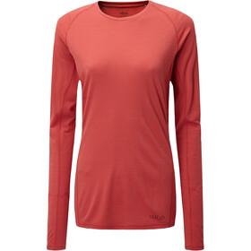 Rab Forge Longsleeve T-shirt Dames, geranium